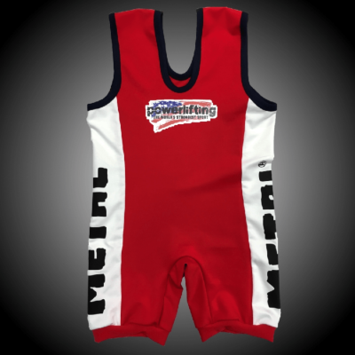 POWERLIFTING SLIM FIT SINGLET
