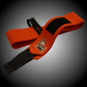 "BANDES DE POIGNETS METAL ""ORANGE"""