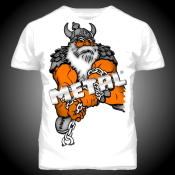 T-SHIRT METAL VIKING POWER