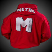 "SWEAT A CAPUCHE METAL ""M"""